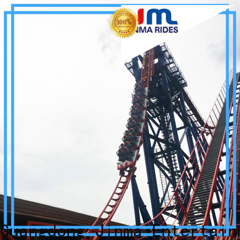 Jinma Rides extreme roller coasters factory for promotion
