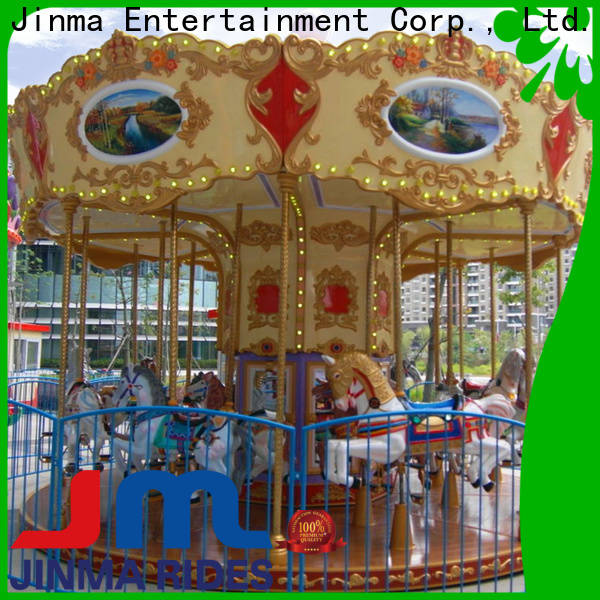 Jinma Rides Custom antique carousels company for sale