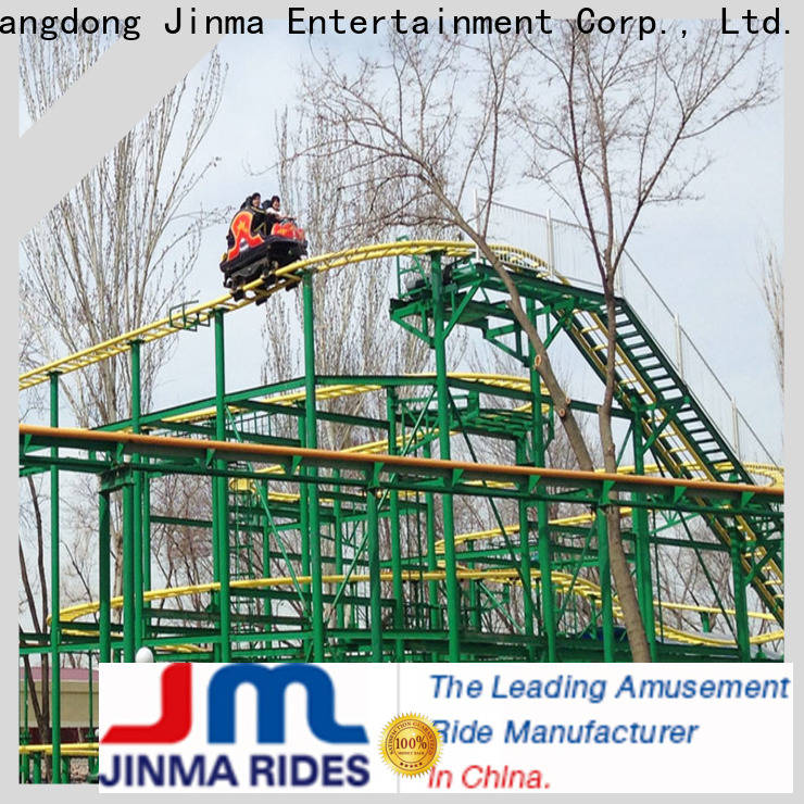 ODM high quality straight roller coaster factory for promotion