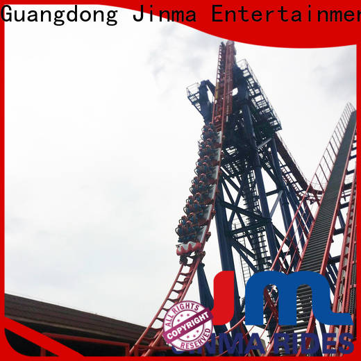 Jinma Rides crazy roller coaster rides company for promotion