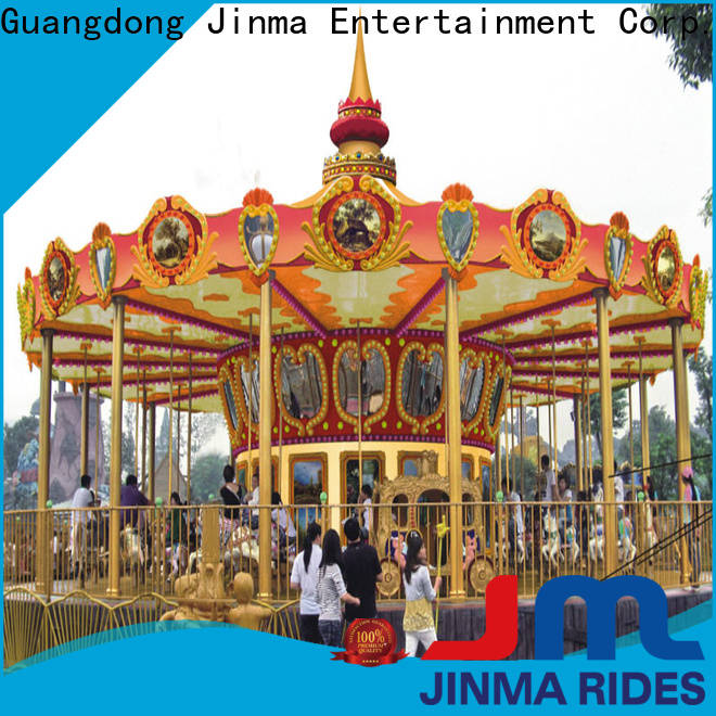 Jinma Rides antique carousel for sale factory for promotion
