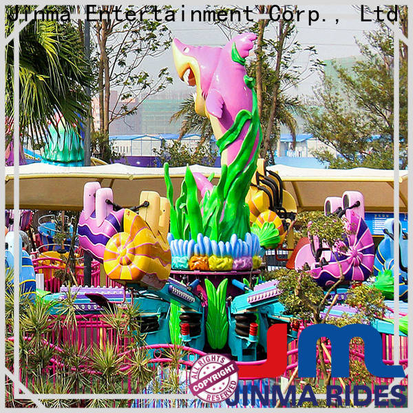 Jinma Rides coin operated kiddie ride maker for promotion