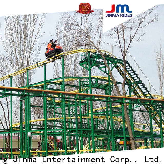 Jinma Rides tall roller coaster sale for sale