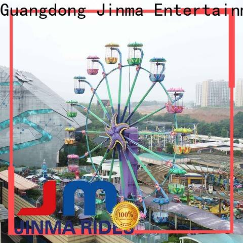 Jinma Rides colorful ferris wheel maker for sale