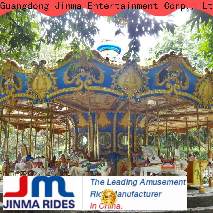 Jinma Rides mini carousel ride for sale company for promotion